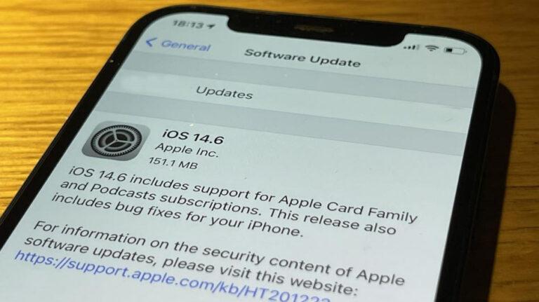اپل بروز رسانی جدید ios 14.6 را منتشر کرد.