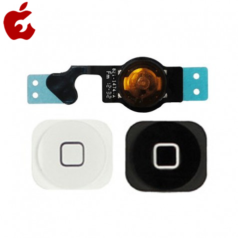 کلید هوم و فلت آیفون ۵ اصلی |Real iPhone 5 home key and flat plate